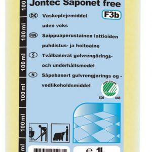 Jontec Saponet free F3b 1 liter
